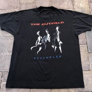 "1989 CBS The Outfield "" Voices of Babylon"""